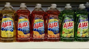 Ajax Dish Soap as Low as 53¢ at Walmart + Dollar Tree, Dollar General Deals!