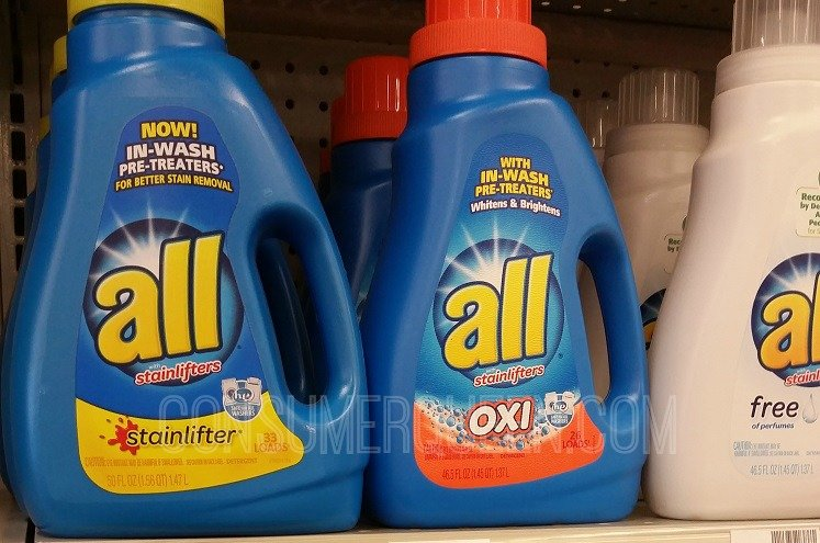 All Laundry Detergent $1.99 at Walgreens With New Coupons
