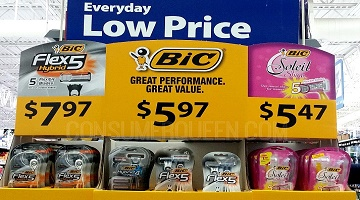 Bic Flex5 Hybrid Razor With Refills ONLY $3.97 at Walmart With New Coupon!
