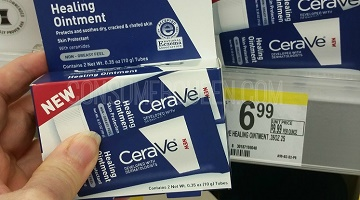 CeraVe Healing Ointment Twin Pack 99¢ at Walgreens!