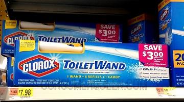 Clorox ToiletWand Starter Kit as Low as $2.48 After Rebate (reg. $7.98!)