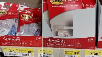 Command Hooks FREE + Profit at Walmart This Week!