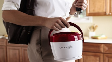 Crock-Pot: 3 Lunch Crock Food Warmers For $30 + Free Shipping