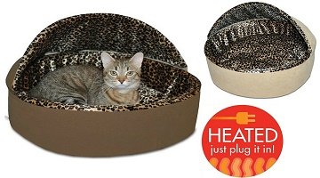 Highly Rated K&H Heated Cat Beds Only $17.99 (Regularly $34.99) on Amazon!
