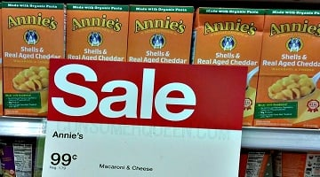 Annie's Organic Mac & Cheese ONLY 49¢ at Target!