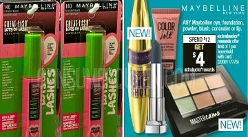 Maybelline Cosmetics : As Low as 79¢ at CVS This Week!