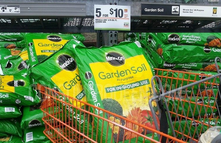 hot deals at home depot 2 miracle gro kingford charcoal outdoor blankets more