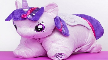My Little Pony 18 in. Pillow Pets ONLY $2.00 + More at Hollar!