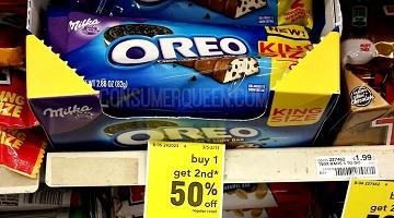 THREE Oreo Milka Bars as Low as FREE at Walmart + CVS Deal!