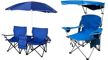 Portable Folding Chairs With Umbrella Table And Cooler