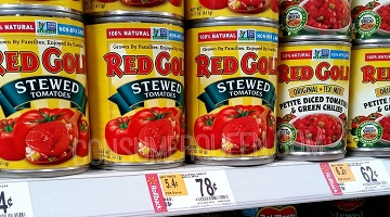 Rollback on Red Gold = Great Deals on Tomatoes at Walmart With Coupon!