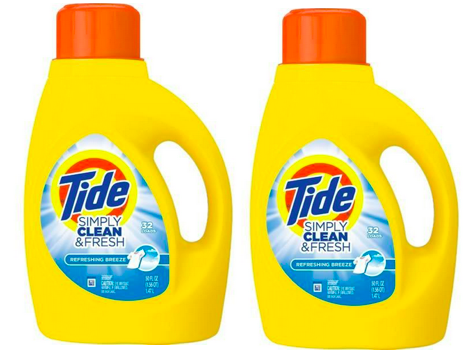 Tide Simply Clean FREE After Cash Back at Dollar General!