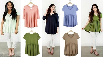 Tunics $19.95 Shipped From Cents of Style This Weekend!