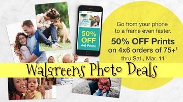 Walgreens Photo Deals: 50% off Photo Prints & More!