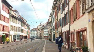 Touring Basel Switzerland