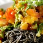 Southwestern Black Bean Spaghetti Recipe
