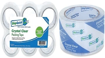 Crystal Clear Packing Tape 6-pk as Low as $7.88 on Amazon!