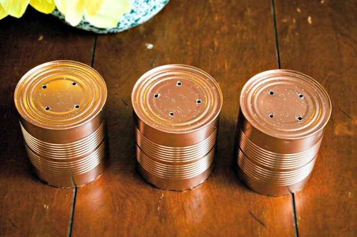 DIY Herb Planter Cans