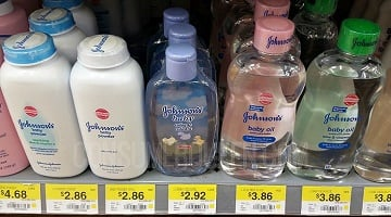 Johnson's Baby Care Products as Low as 86¢ at Walmart!