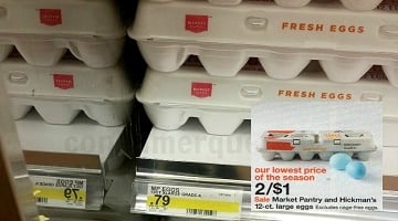 Market Pantry Eggs 50¢ at Target (Starts 4/9) + How to FREEZE Them!