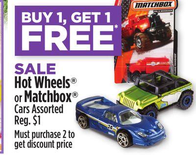 Dollar General: Hot Wheels & Matchbox Cars as Low as 50¢!