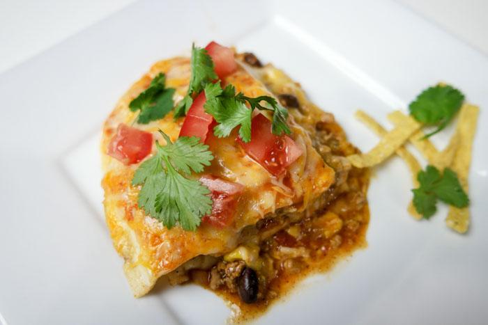 Slow Cooker Turkey Enchilada Bake horizontal (1 of 1)