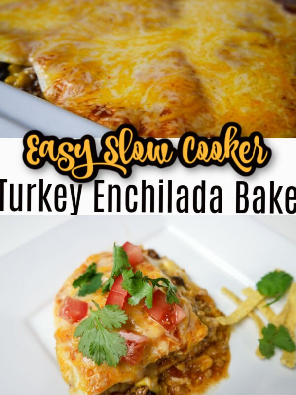 Slow Cooker Turkey Enchilada Bale Pinterest
