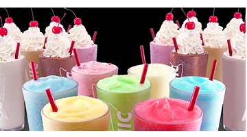 Shakes and Ice Cream Slushes 1/2 Price ALL Day – coming soon