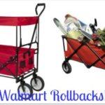Walmart: Rollbacks on Ozark Trail Folding Wagons!