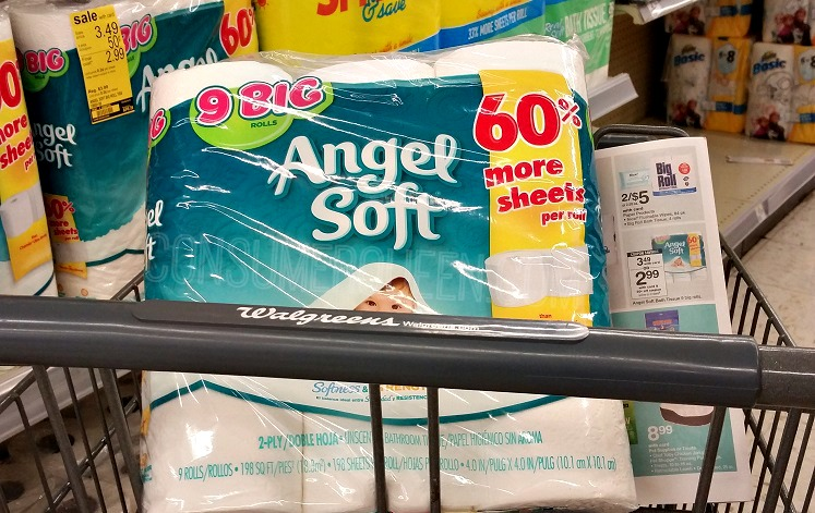 Angel Soft Bath Tissue – 9 Roll Pack Just $2.49 at Walgreens