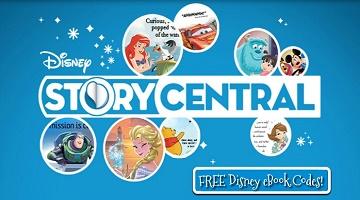 Disney Story Central: Several New Disney eBooks For $0
