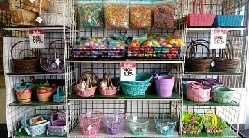 Easter Baskets 50% Off PLUS Additional 20% Off at Michael's Today Only!