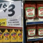 French's Mustard and Ketchup ONLY 50¢ at Homeland & Country Mart!
