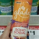 New Glade Spring Scents (Sprays & Solids) 56¢ at Target!