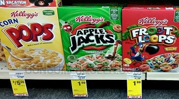 Kelloggs Cereals ONLY $1.39 per Box at CVS This Week!