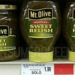 Mt. Olive Pickle Relish as Low as 49¢ (Target, Walmart & Homeland)!