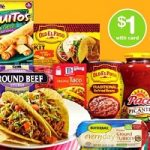 Old El Paso Refried Beans, Taco Shells 50¢ at Walgreens!