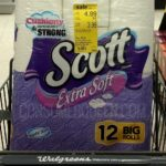 Scott Extra Soft & Comfort Plus 12-pks Only $3.45 at Walgreens