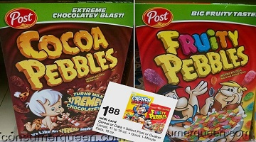 Pebbles Cereals ONLY $1.38 at Walgreens Starting 4/30!