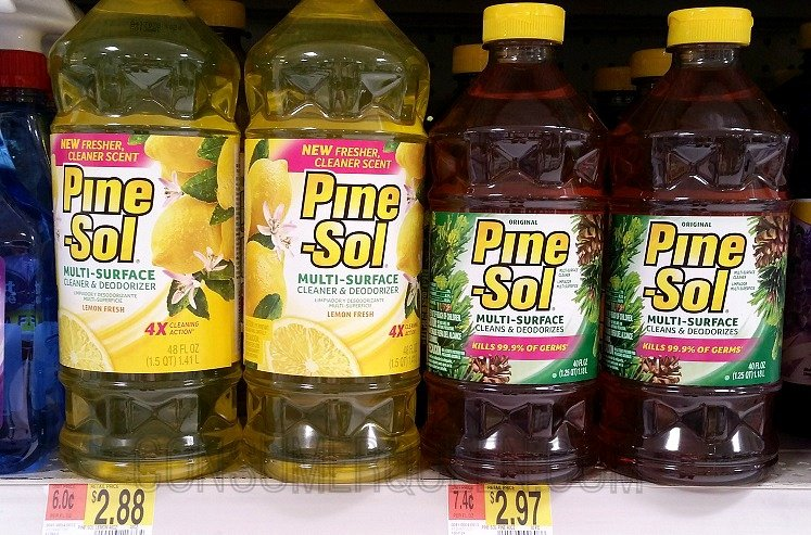 Pine Sol Cleaner As Low As 1 78 At Walmart W New Coupon