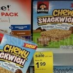 Quaker Chewy Snackwich 99¢ at Walgreens Thru Saturday!