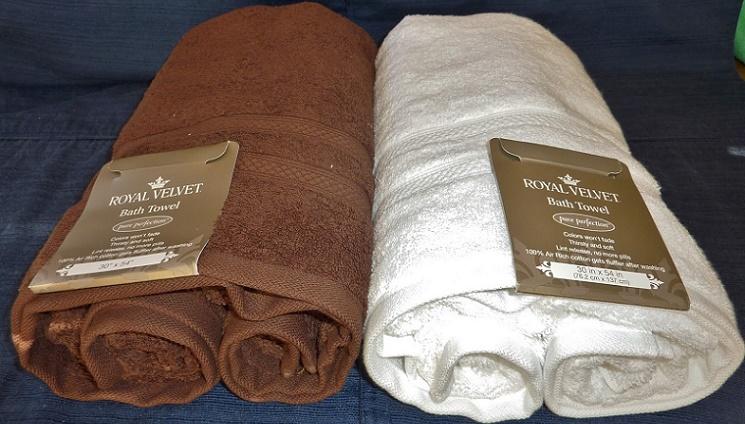 Royal Velvet Egyptian Cotton Bath Towels Only $9.49 (Reg. $26)