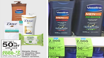 Vaseline Men's Lotion ONLY 19¢ at Walgreens This Week!