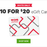 Groupon: $20 CVS eGift Card ONLY $10 (Select Email Subscribers Only)