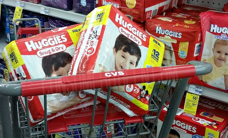 Huggies Diapers or Pull-Ups as Low as $3.43 a pack after Rewards at CVS