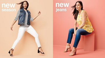 All Women's Jeans 20% off at Target Online (as Low as $11.18)!