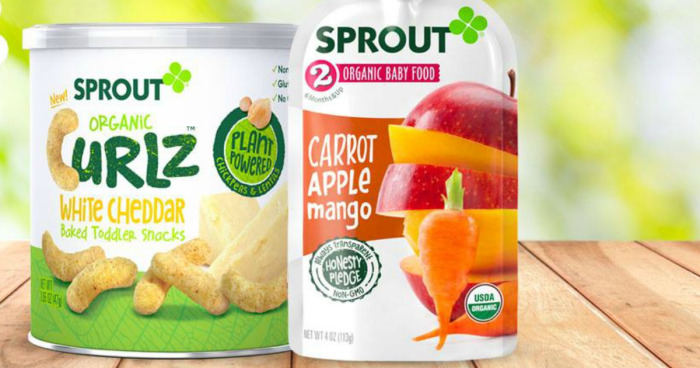 Sprout Organic Baby Food Coupons + Target Deals (as low as 37¢)