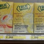 True Lemon 10-ct. Drink Mix Sticks ONLY 99¢ at Target