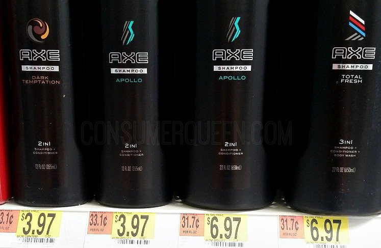 Axe Shampoo Only $1.97 at Walmart & Target w/New Coupon