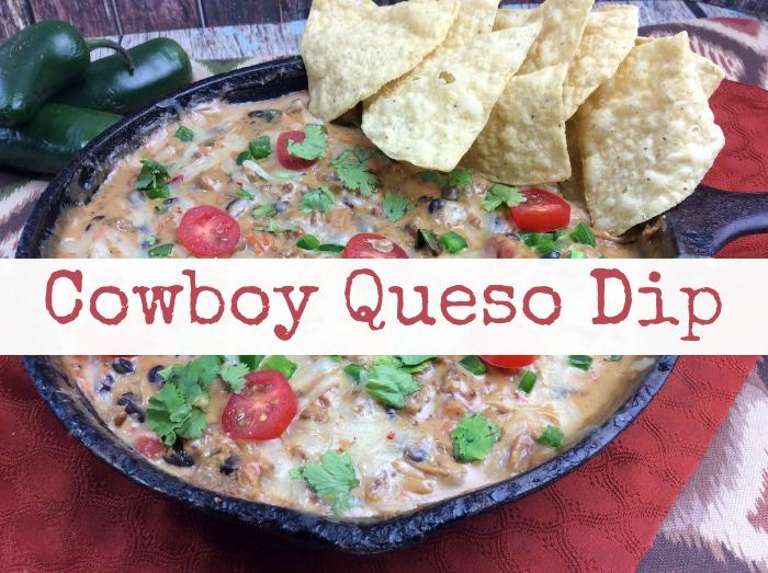 Cowboy Queso dip